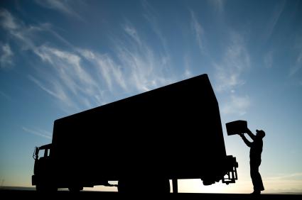 Loading Truck Image